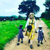 Madonna zeigt ihre adoptierten Zwillinge