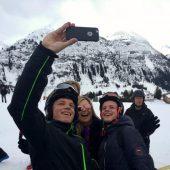 Royaler Skispaß im Lecher Schnee