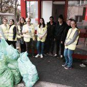Abfallsammelaktion im Hohenemser Stadtgebiet