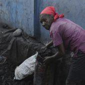 Holzkohle in Haiti  besser als ihr Ruf