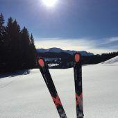 Das Bödele als Paradies für Skitourengeher