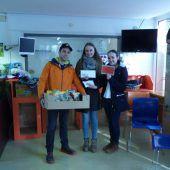 Schülerinnen der HAK Feldkirch unterstützen Tierschutzheim