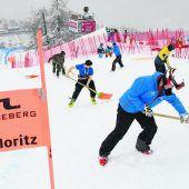 In St. Moritz ist die Piste frei für die Ski-WM