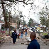 Tornados wüten im  Süden der USA