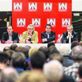 VN-Stammtisch: Engagierte Diskussion zu Weiler und Grünzone