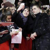 Viel Jubel der Fans für Robert Pattinson