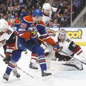 NHL-Profi Leon Draisaitl knackt die 50-Punkte-Marke