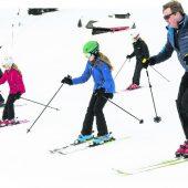 Niederländische Königsfamilie auf Winterurlaub in Lech