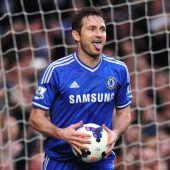 Frank Lampard hängt Schuhe an den Nagel