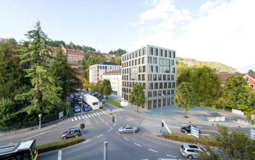 Geplant: Für 9,9 Millionen Euro soll das City Office der Arbeiterkammer gebaut werden. Drescher, München