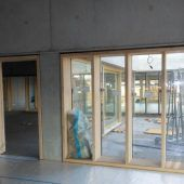 Schulcampus Schendlingen im Innenausbau