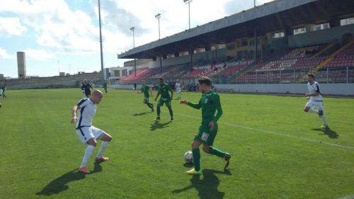 Ilkay Durmus im Spiel gegen Stabaek. Für die Austria setzte es gegen die Norweger (0:2) die erste Testspiel-Niederlage. Fotos: Austria/5