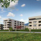 Quartier mit 130 Wohnungen