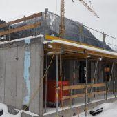 Bauprojekt im Winterschlaf