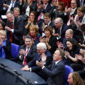 Künftiger deutscher Präsident ruft zum Kampf gegen Populismus auf