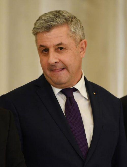 Justizminister Florin Iordache ist zurückgetreten.  Foto: afp