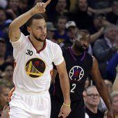 Drei-Punkte-Rekord für Stephen Curry