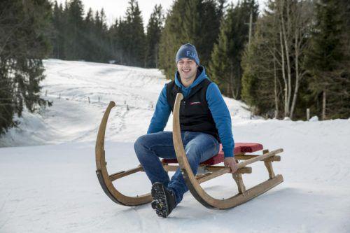 Lukas Bereuter ist seit dem vergangenen Jahr Obmann des Hornerclubs Sibratsgfäll.  Foto: M. Kuzmanovic