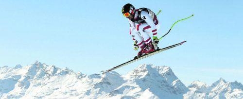 Marcel Hirscher landete in der Abfahrt sogar vor Luca Aerni, im Slalom fehlte ihm am Ende eine Hundertstel auf den Sensationssieger aus der Schweiz. Foto: Reuters