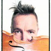 Violonist Nigel Kennedy geigt in Bregenz auf