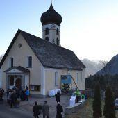 Förderung für Bürserberger Pfarrkirche