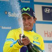Quintana krönt Geburtstag mit Etappensieg