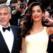 Amal Clooney mit Zwillingen schwanger
