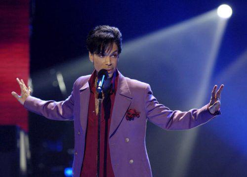 Prince starb im April 2016 an einer Überdosis Schmerzmittel. RTS