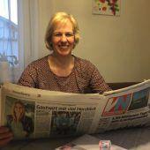 Seit gut 37 Jahren die Vorarlberger Nachrichten auf dem Frühstückstisch