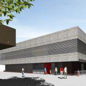 Richtfest für neue Schulsporthalle