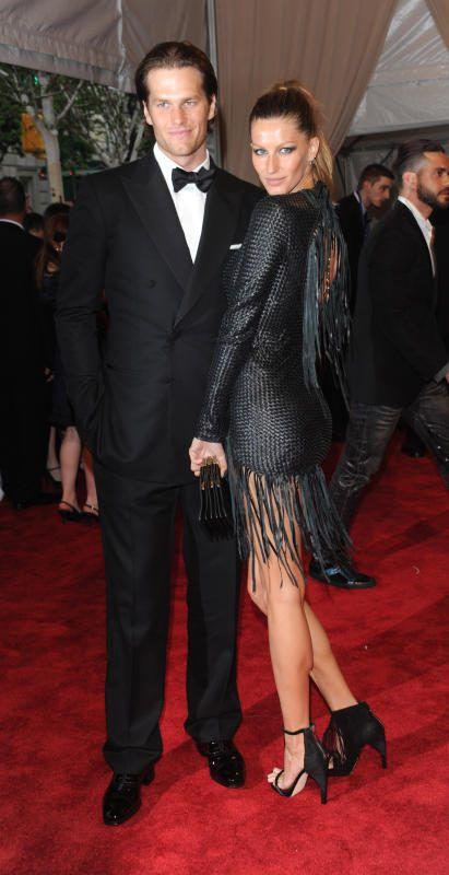 NFL-Superstar Tom Brady mit seiner Gattin Gisele Bündchen.AP