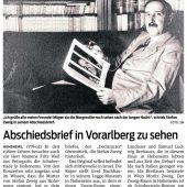 Originaltexte des Dichters mit Hohenemser Wurzeln