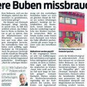 Prozess um Missbrauch im Kinderdorf Bregenz