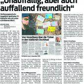 Prozess gegen IS-Kämpfer im Schwurgerichtssaal Feldkirch