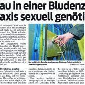 Sexattacke in Praxis vor Gericht