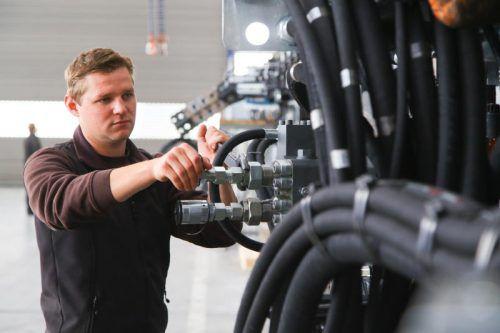 Von Land und AMS kräftig unterstützt: der Arbeitsmarkt. VN/BH