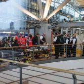 Pfefferspray sorgt für Sperre von Flughafen