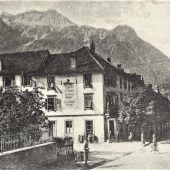 vorarlberg einst und jetzt. Bahnhofstraße Bludenz