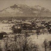 Vorarlberg Einst und Jetzt. Nenzinger Dorfzentrum