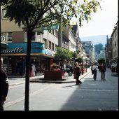 Vorarlberg Einst und Jetzt. Die Kaiserstraße in Bregenz