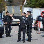 Phosphormunition in München entdeckt