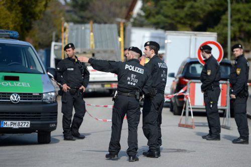 200 Anwohner mussten im Münchner Stadtteil Freimann ihre Häuser räumen. Foto: dpa