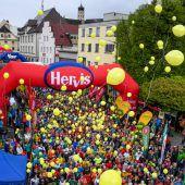 Laufsportfieber in der Alpenstadt