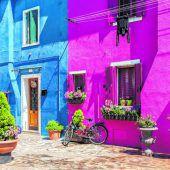 Farbenfrohes Burano