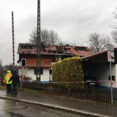 Mordhaus wird neu aufgebaut