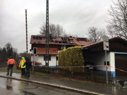 Mittlerweile wurde das Haus abgerissen, nur die Garage blieb stehen. Vol.at