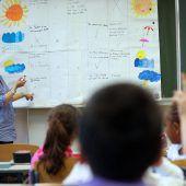 Jeder dritte Lehrer steht vor der Pensionierung
