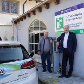 Kennelbach hat nun eine  E-Tankstelle