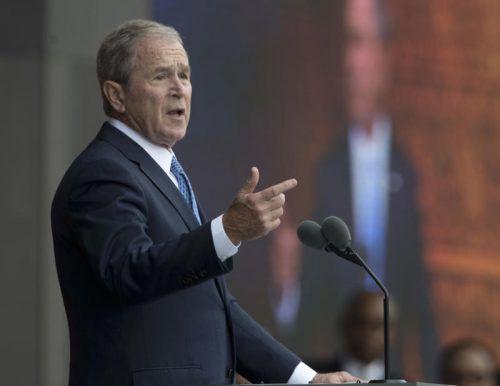 """Bush bezeichnete das politische Klima als """"ziemlich übel"""". AP"""