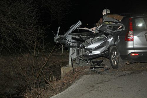 Das Auto wurde regelrecht aufgerissen. Foto: VOL.AT/Madlener